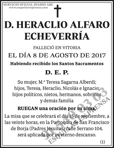 Heraclio Alfaro Echeverría